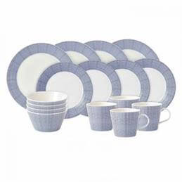 Royal Doulton Pacific 16 piece Dinner Set