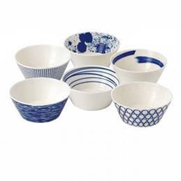 Royal Doulton Pacific Set of 6 Bowls