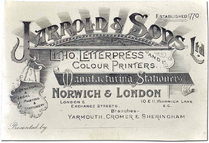 Jarrold's advanced printing division at Cowgate