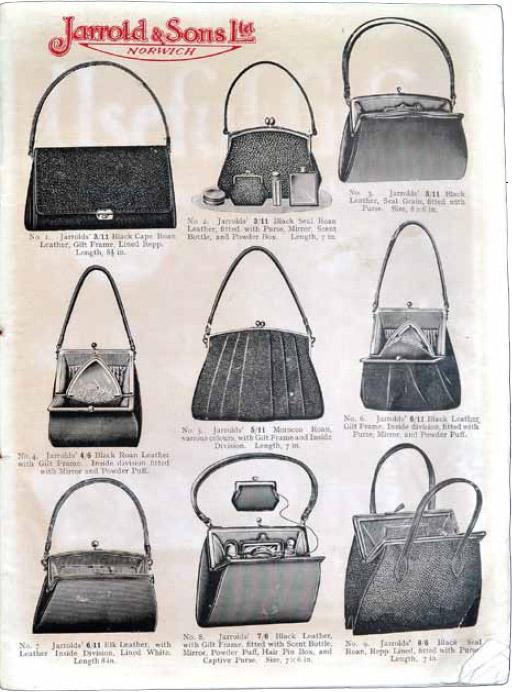 bag frames in the roaring '20s