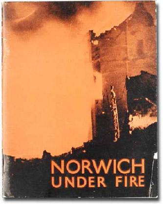 Norwich Under Fire book cover