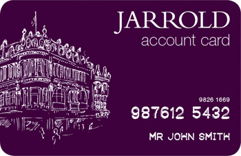 Jarrold Account Card