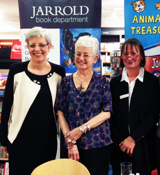 Jacqueline Wilson meets some of the Jarrold team