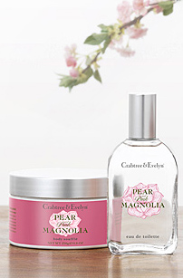 Crabtree & Evelyn Pear and Pink Magnolia