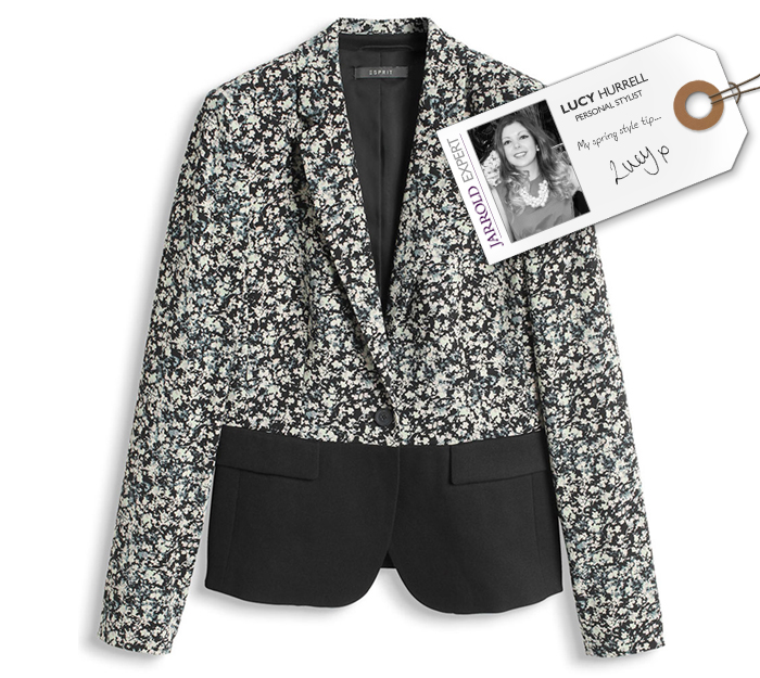 The MUST-HAVE jacket | Esprit Mixed Material Blazer - £99