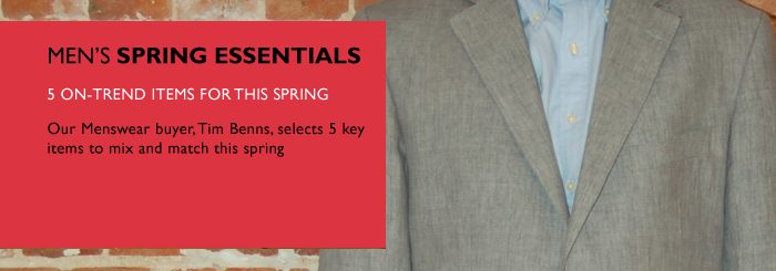 Men's Spring Essentials
