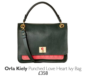 Orla Kiely Punched Love Heart Ivy Bag - £358