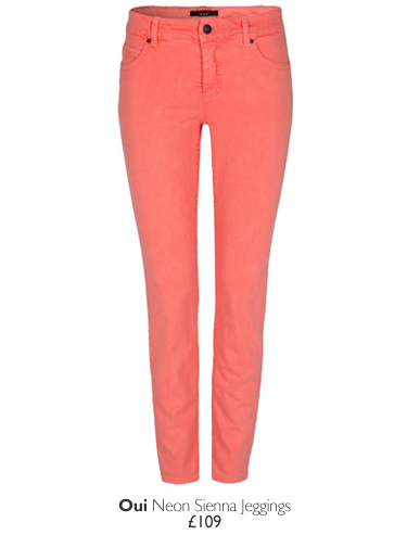 Oui Neon Sienna Jeggings - £109