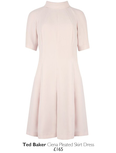 Ted Baker Ciena Pleated Skirt Dress - £165