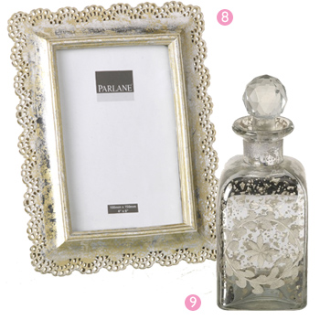 Parlane Picture Frame and Bottle