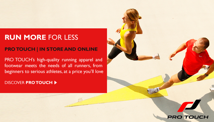 Run More for Less with Pro Touch, Pilch, Norwich