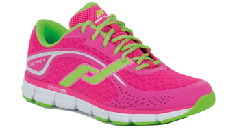 Pro Touch Womens Oz Pro III - Pink Green Lime - £30