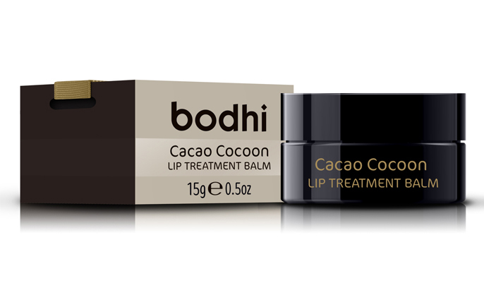 Bodhi Cacao Lip Balm available at Jarrold Norwich