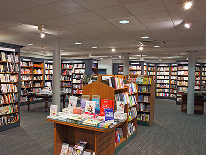 Brand New Book Department at Jarrold Norwich