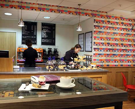 Chapters Coffee Bar now aailable at Jarrold Norwich on the Lower Ground Floor
