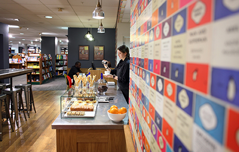 Chapters Coffee Bar now available at Jarrold Norwich, on the Lower Ground Floor