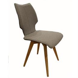 Skalo Chair in Grey Fabric
