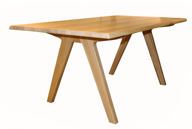 Skalo Dining Table in Solid Oiled Oak | Jarrold, Norwich