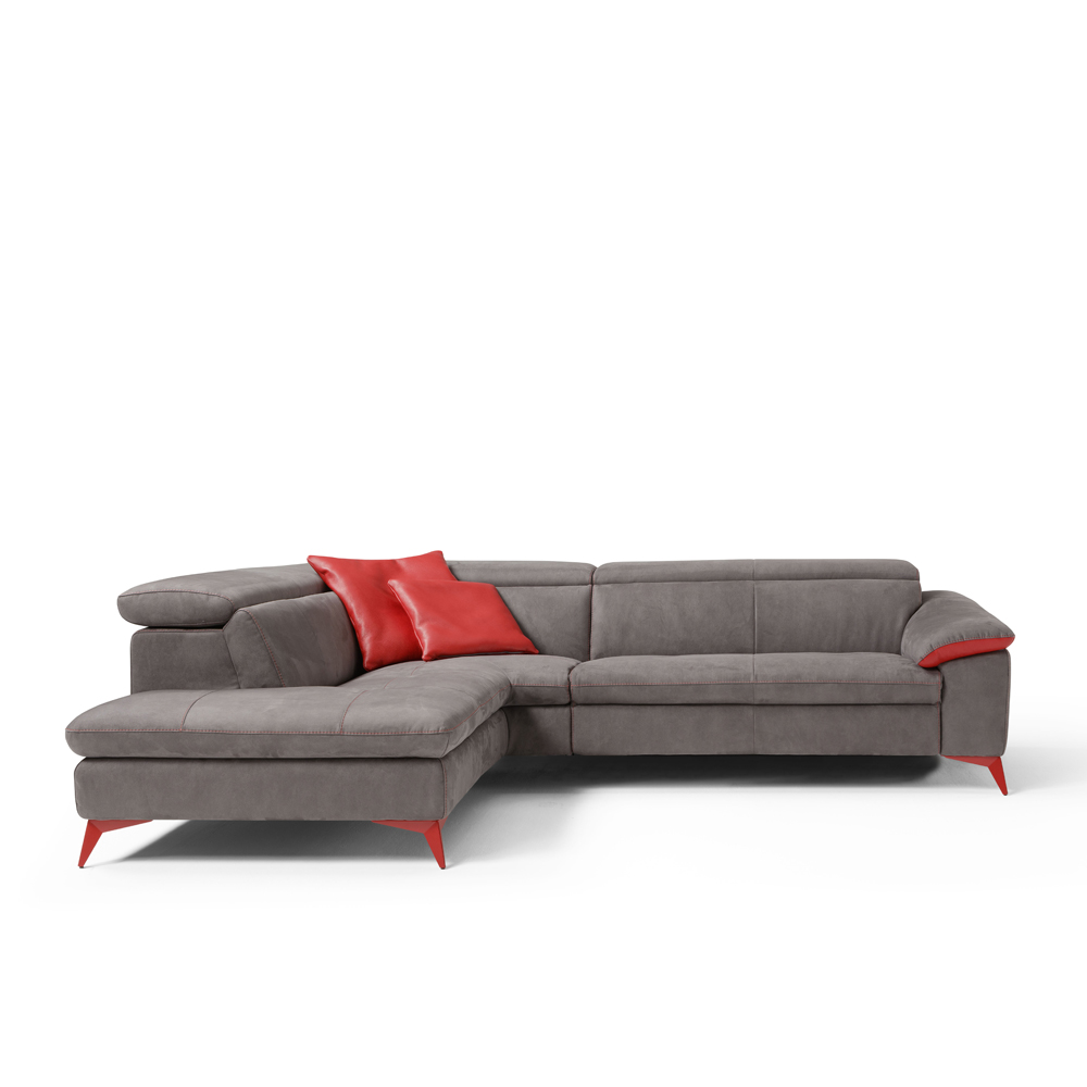 Solna Corner Sofa with Electric Recliner Action | Jarrold, Norwich
