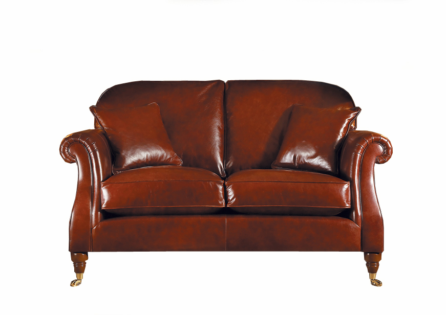 Parker knoll westbury small sofa in leather jarrold norwich for Westbury leather sofa