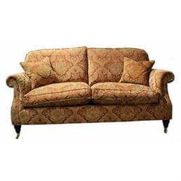 Parker knoll westbury grand sofa in a range fabric for Westbury leather sofa
