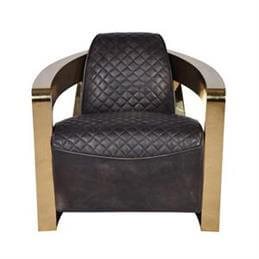 Blake Armchair in a Selection of Quilted Leathers
