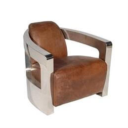 Blake Armchair in a Selection of Leathers