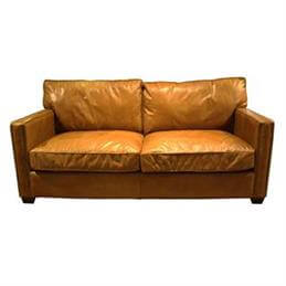 Brunel Two Seater Sofa in Riders Nut Leather