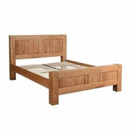 Halo Madison Double Sized Bedstead in Oiled Oak