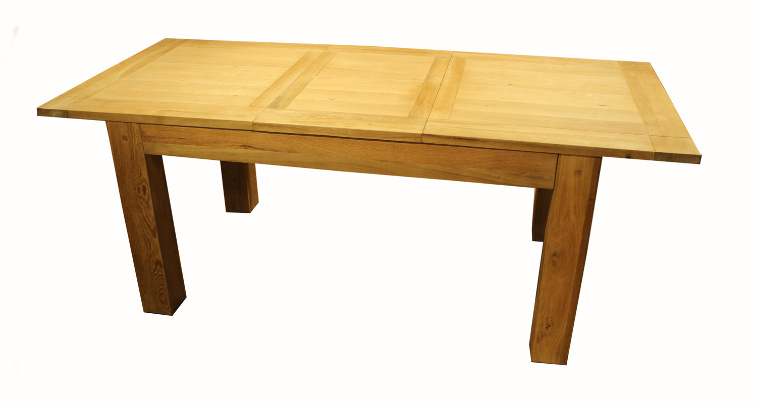 Halo Madison Extending Dining Table 180-230cm in Oiled Oak ...
