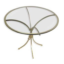 Pimlico Glass Top Round Table
