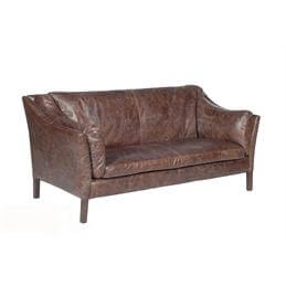 Halo Reggio High Back Three Seater in a Selection of Leather