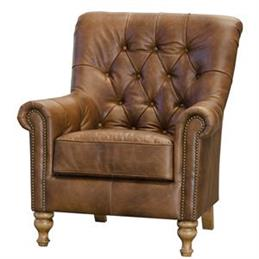 Chelsea Armchair in Leather