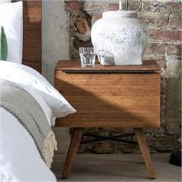 Ranworth One Drawer Bedside Chest