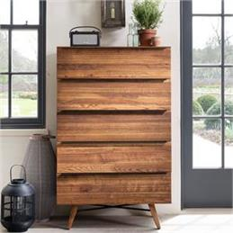 Ranworth Five Drawer Tall Chest