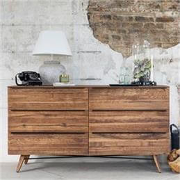 Ranworth Six Drawer Wide Chest