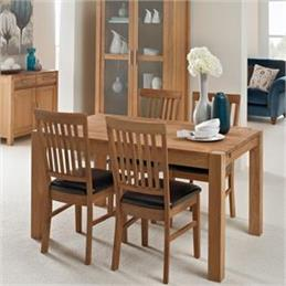 Westminster Dining Table & Four Dining Chairs