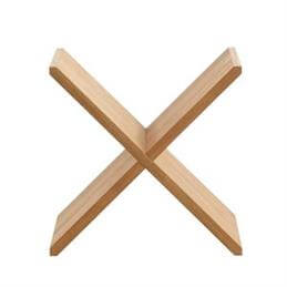 Cube Wine Cross Wooden Wine Rack