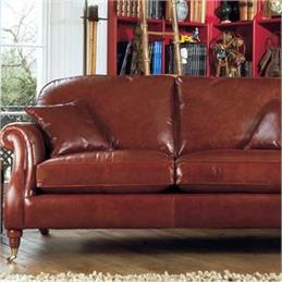 Parker Knoll Westbury Grand Sofa in Leather