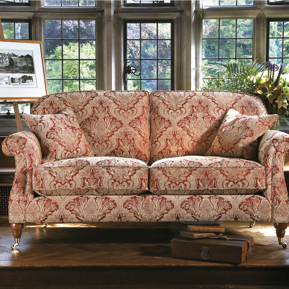Parker Knoll Westbury Small Sofa In C Range Fabric