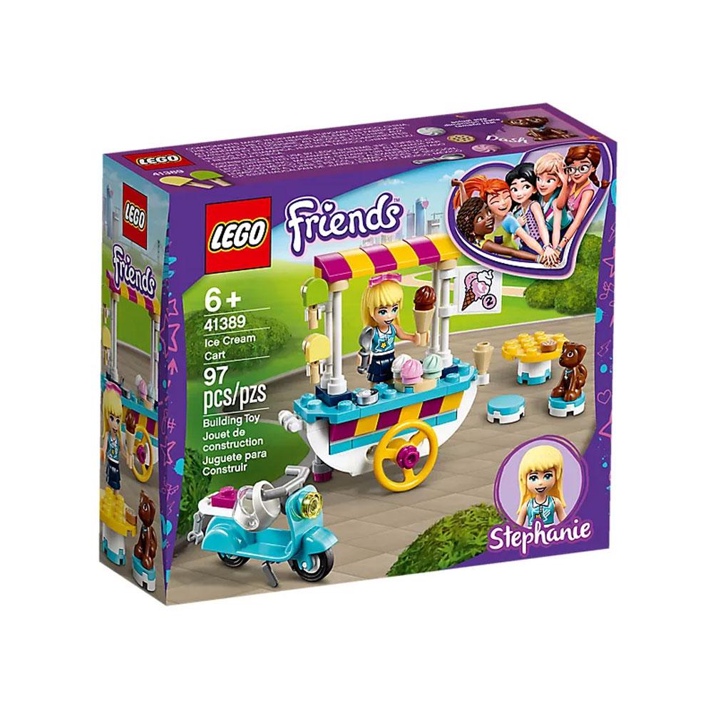 Lego Friends Ice Cream Cart Set 41389 | Jarrold, Norwich