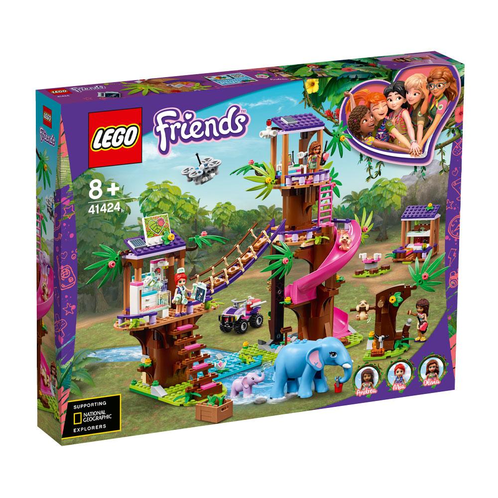 Lego Friends Jungle Rescue Base 41424 Set | Jarrold, Norwich