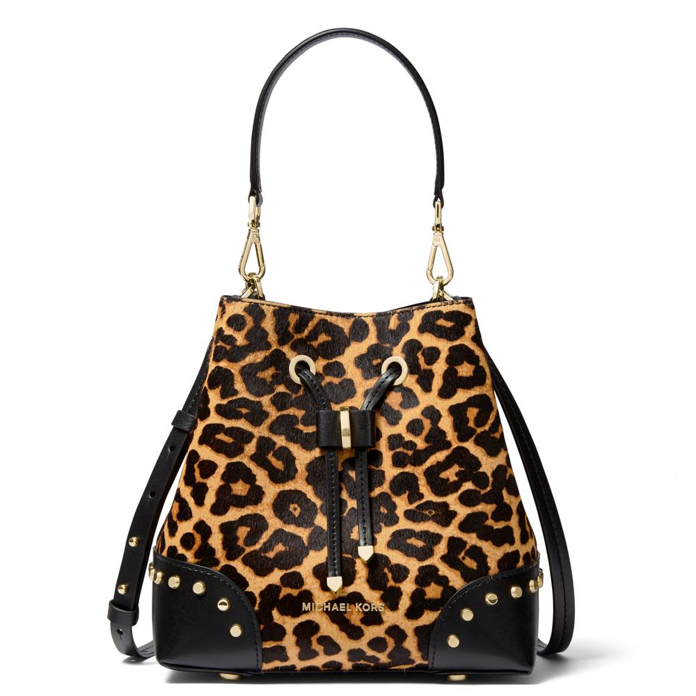 michael michael kors mercer gallery small leopard calf hair shoulder bag jarrold norwich. Black Bedroom Furniture Sets. Home Design Ideas
