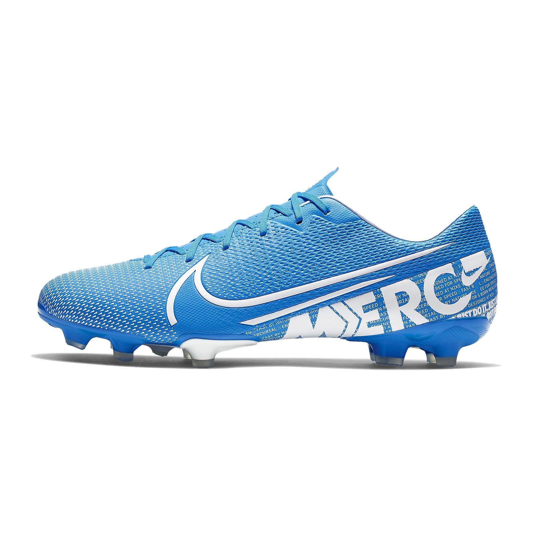 emprender Aparte Ocho  Nike Mercurial Vapor 13 Academy MG Football Boots - Blue/White | Jarrold,  Norwich