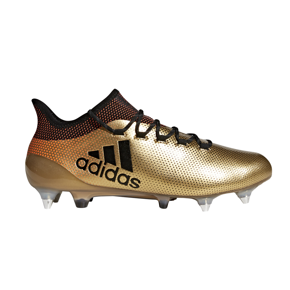 Adidas Men s X 17.3 Firm Ground Football Boots- Gold  2791bc14512