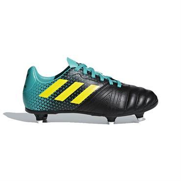 0918e6b55503 Adidas Junior All Blacks Soft Ground Rugby Boots- Hi-Res Aqua