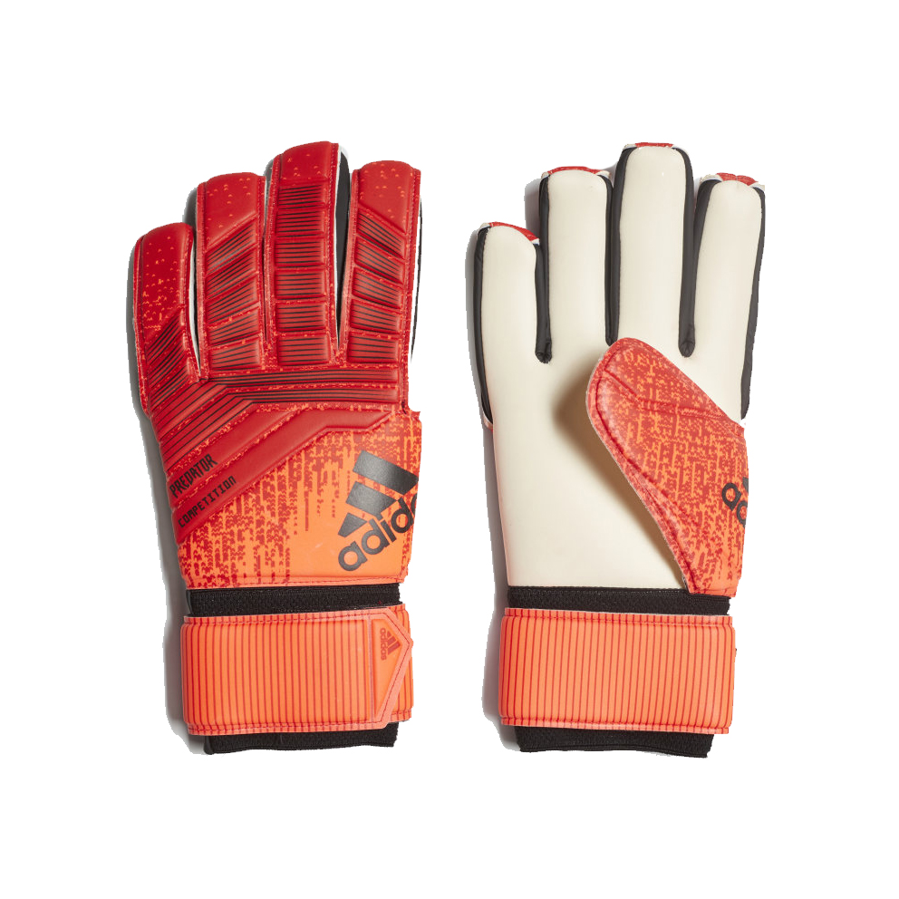 ee1d5a51990 Adidas Predator Competition Football Gloves - Active Red | Football ...