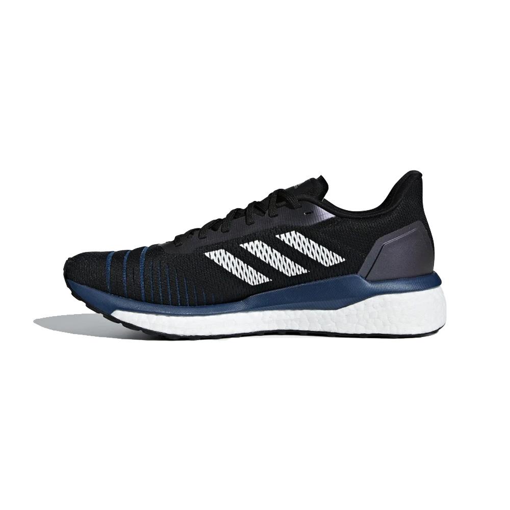 purchase cheap 83e32 8ead3 Adidas Mens Solar Drive Running Shoe - Core Black
