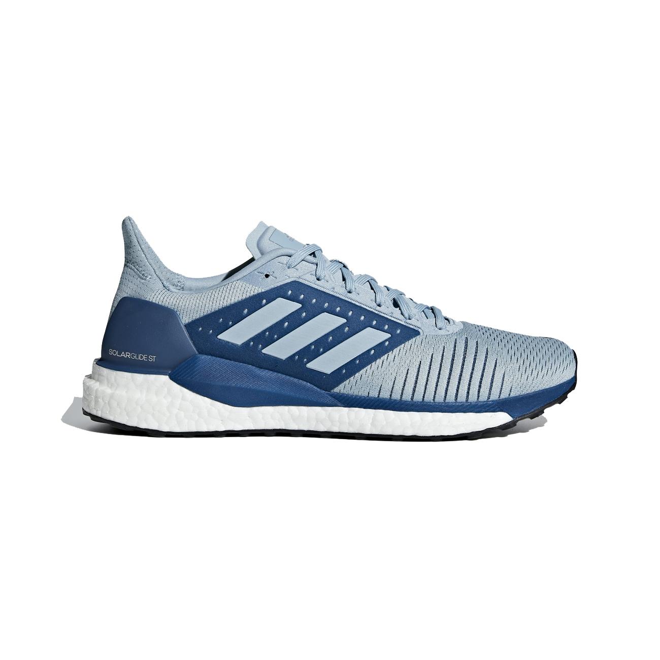 d405430b9ca4e Adidas Men s Solar Glide ST Running Shoes - Ash Grey