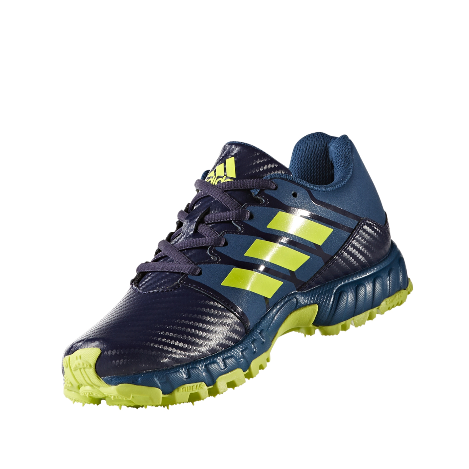 separation shoes 10d1d 38f85 Adidas Hockey Lux Junior Shoes- Blue Yellow